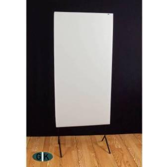 GIK Acoustics 242 Acoustic Panel white on stand sq