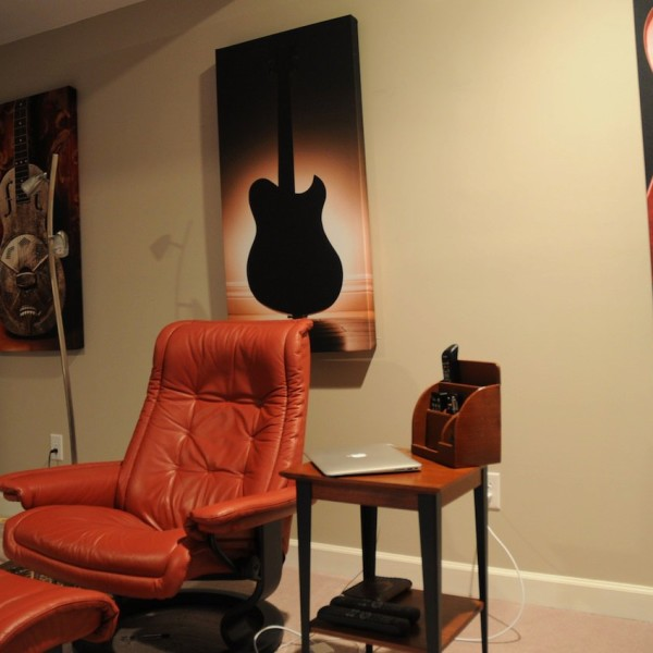 GIK ArtPanels in listening room