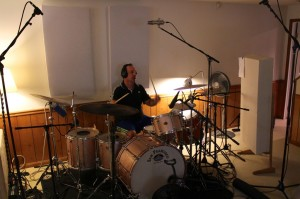 Elastic Studios, Scott Rabino on drums