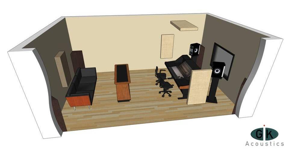 GIK Acoustics Room Kit #3