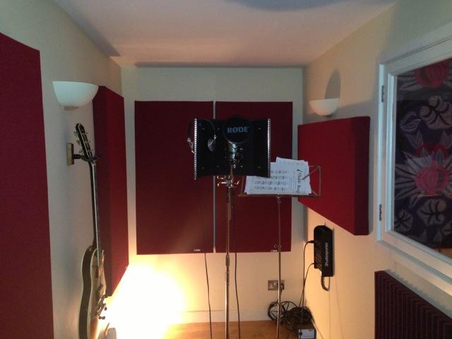 Akustikkplater studio