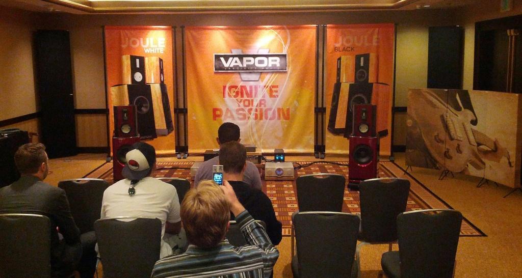 Vapor Joule and GIK Acoustics