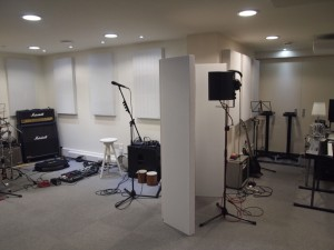 Graham Stack GIK Acoustic Panel Screen Panel isolation booth